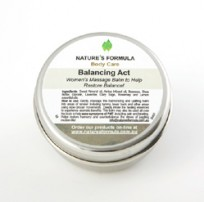 Balancing Act – Women's Massage Balm to Help Restore Balance!